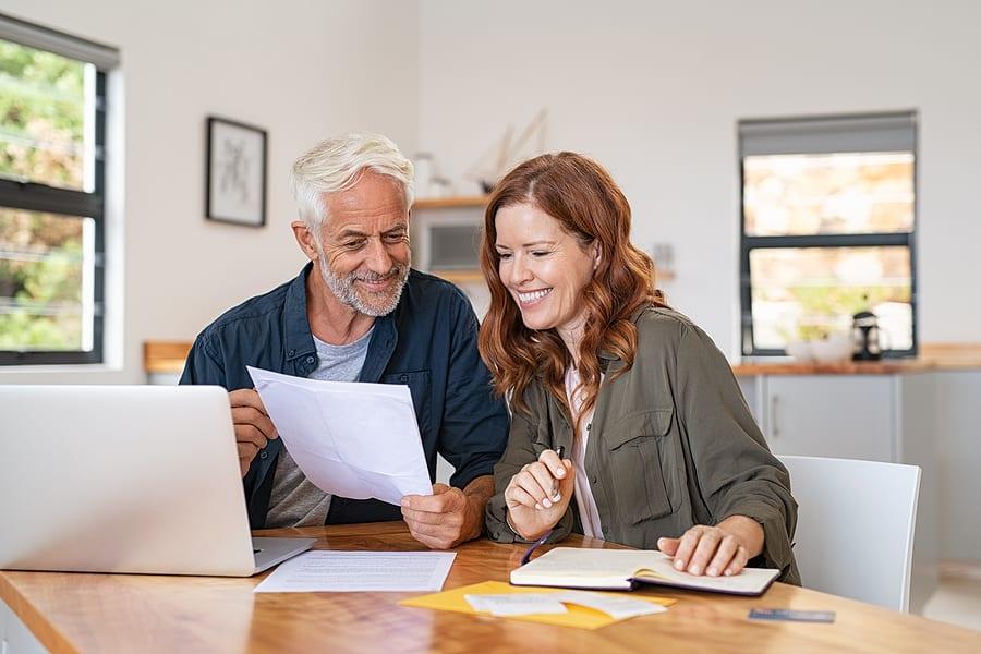 family making long-term care plans